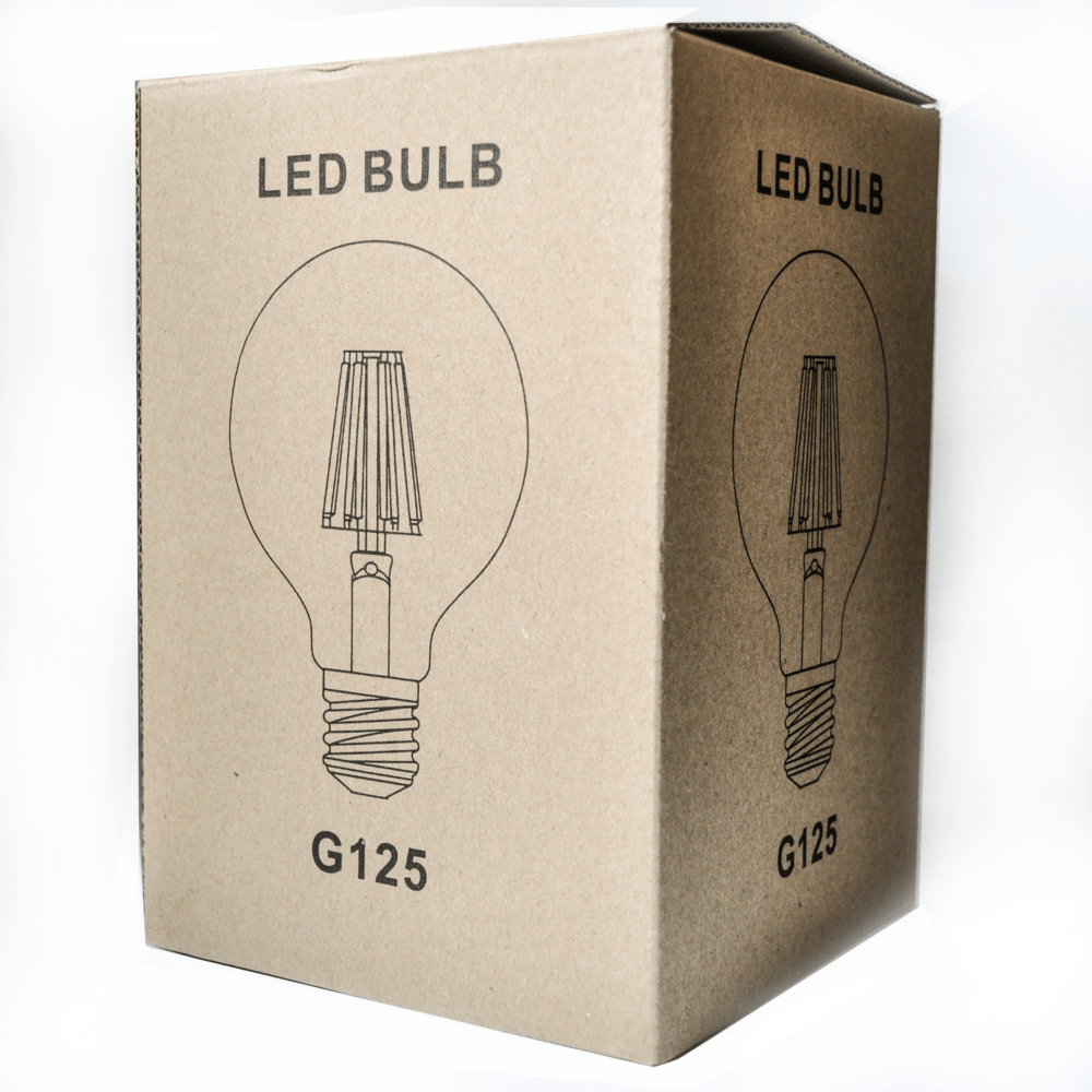 G125 Light Bulb With Multi Colored Micro Led Lights