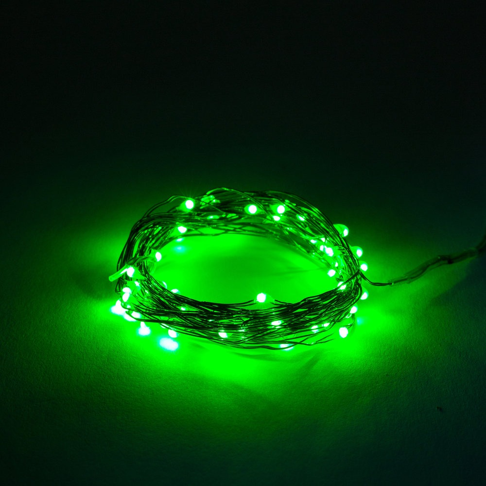 16 5 Foot Battery Operated Led Fairy Lights Waterproof