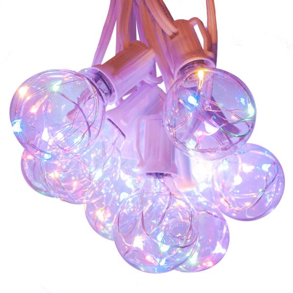 G40 multicolor fairy led lights